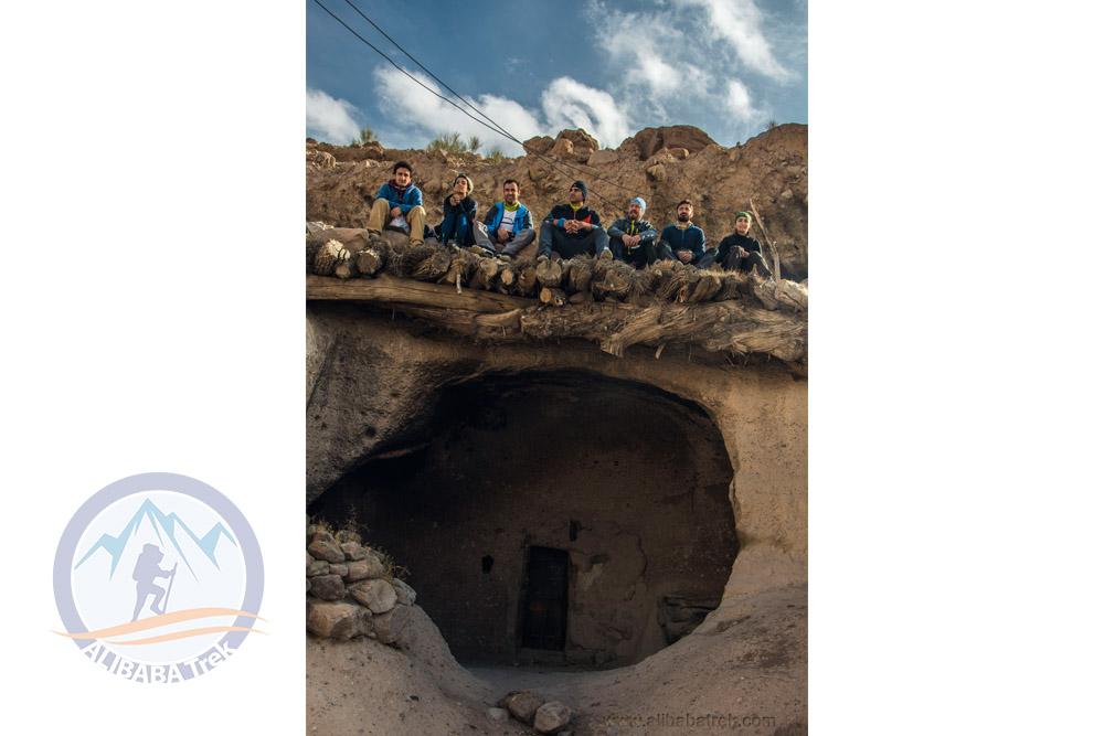 The historical village of Meymand, Kerman