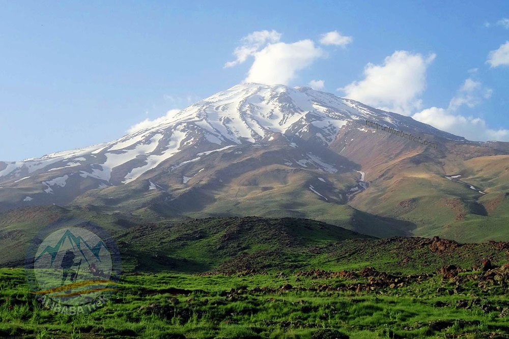 This is Damavand (5671 m), the highest peak in the Middle East. Are you ready for your Damavand Tour?