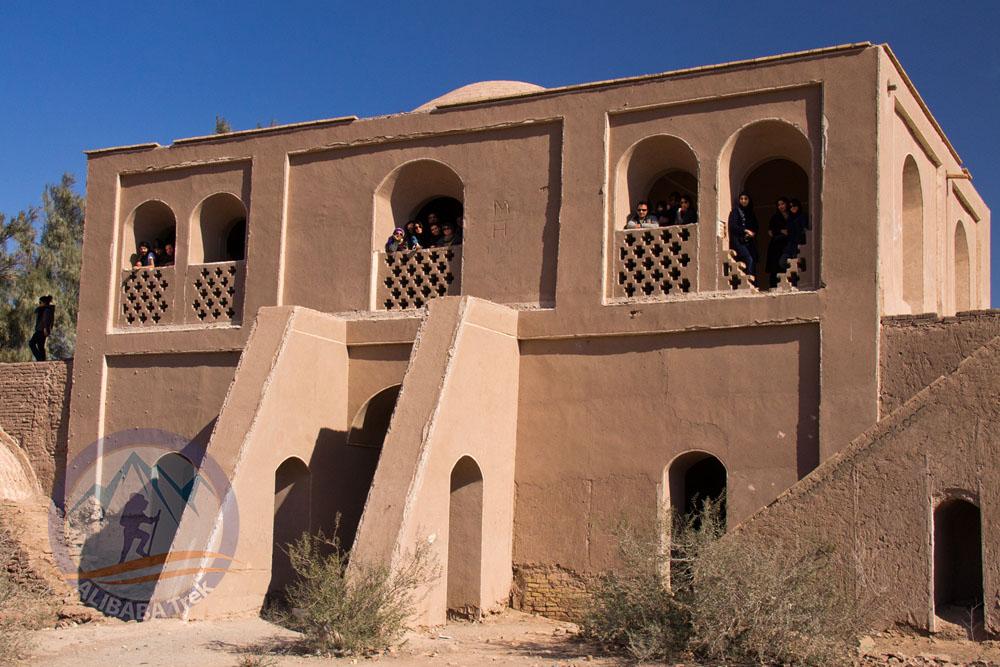 The castle/caravanserai in Shahdad, Kerman