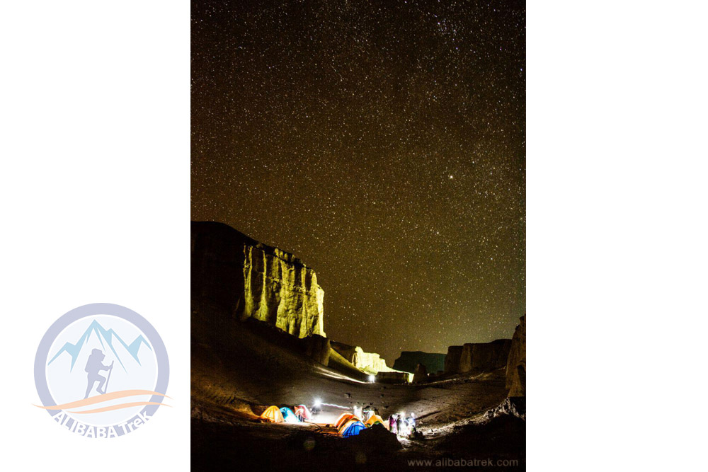 Camping in Kalout Desert, Shahdad, Kerman