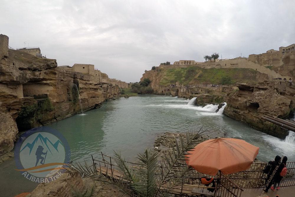 Shushtar province and Karun River