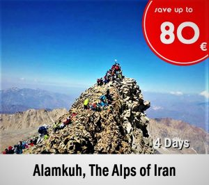 Alamkuh, The Alps of Iran