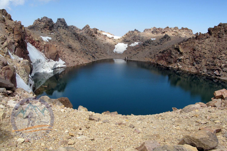 Sabalan Summit 4811m, Third highest peak in the Iran