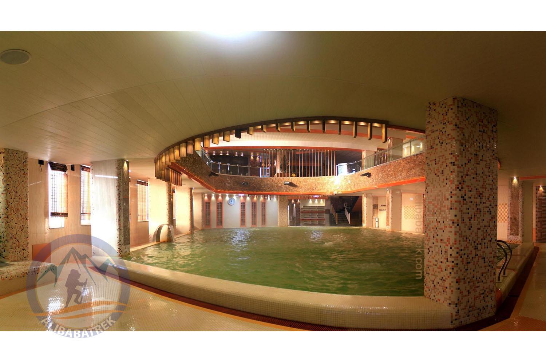 Hot spring pool, Sarein, Ardabil