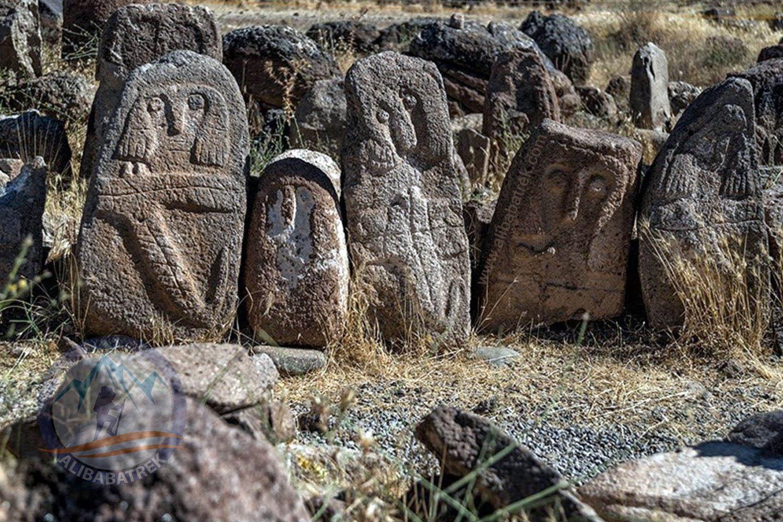 Shahr YERI Historical Site in ardabil
