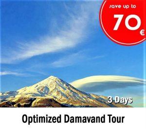 Optimized Damavand Tour