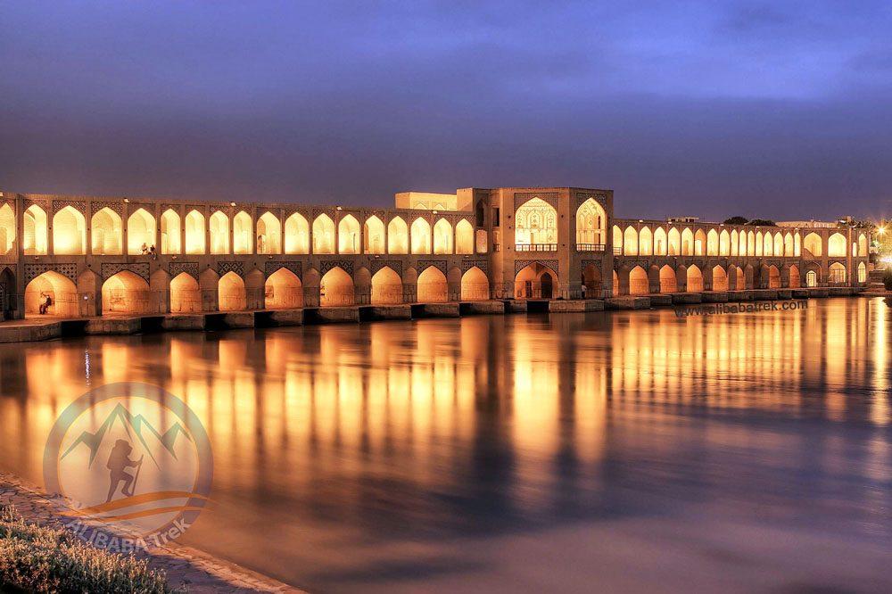 Persia Travel Alibabatrek Iran Travel visit iran tour Travel to Isfahan sightseeing Trip to Isfahan city tour tourism isfahan tourist attraction Khaju Bridge