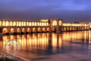 Alibabatrek Iran Travel visit iran tour Travel to Isfahan sightseeing Trip to Isfahan city tour tourism isfahan tourist attraction Khaju Bridge