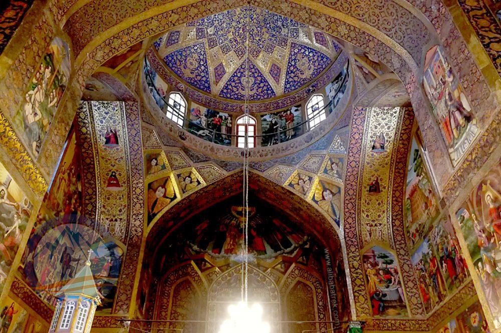 Persia tour Alibabatrek Iran Travel visit iran tour Travel to Isfahan sightseeing Trip to Isfahan city tour tourism isfahan tourist attractionVank Cathedral