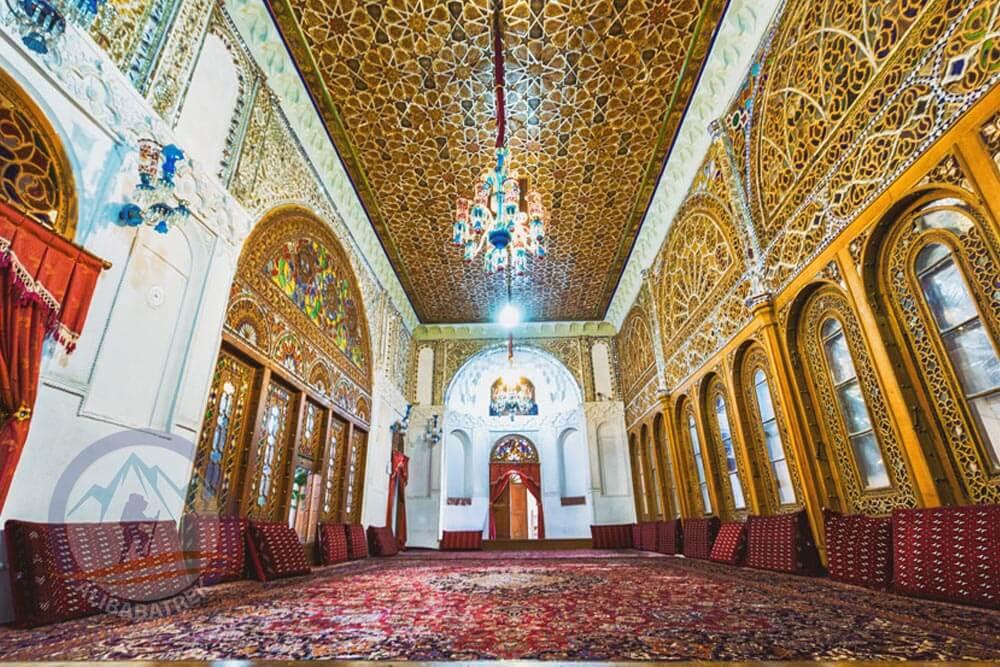 Alibabatrek Iran Travel visit iran tour Travel to Qazvin sightseeing Trip to Qazvin city tour tourism Qazvin tourist attraction Aminiha Hosseiniyeh
