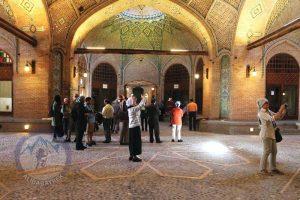 Alibabatrek Iran Travel visit iran tour Travel to Qazvin sightseeing Trip to Qazvin city tour tourism Qazvin tourist attraction Caravanserai of Sa'd al-Saltaneh