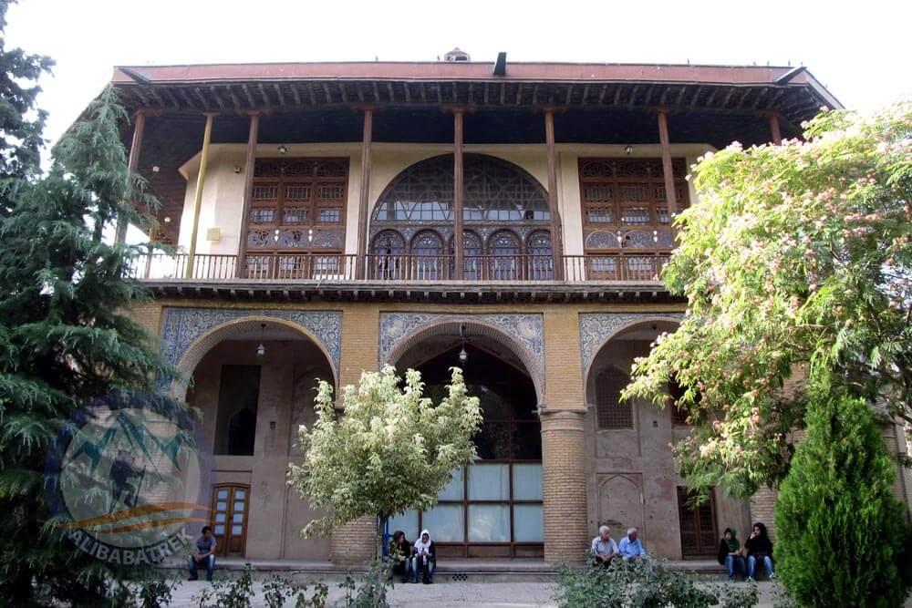 Alibabatrek Iran Travel visit iran tour Travel to Qazvin sightseeing Trip to Qazvin city tour tourism Qazvin tourist attraction Chehel sotoun