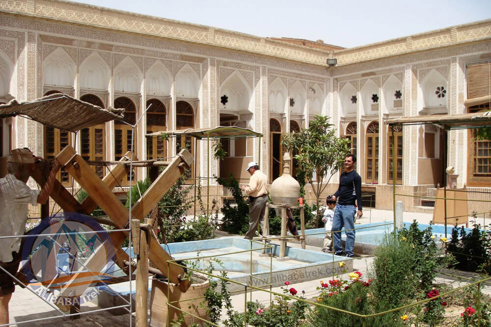 Alibabatrek Iran Travel visit iran tour Travel to Yazd sightseeing Trip to Yazd city tour tourism Yazd tourist attraction Water Museum