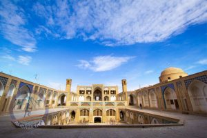Alibabatrek Iran Travel visit iran tour Travel to kashan sightseeing Trip to kashan ity tour tourism kashan tourist attraction Agha Bozorg mosque