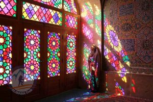 Alibabatrek Iran Travel visit iran tour Travel to shiraz sightseeing Trip to v city tour tourism shiraz tourist attraction Nasir al-Mulk Mosque