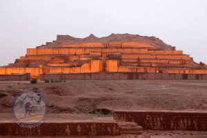 Ziggurat of Chogha Zanbil is an ancient Elamite complex in Khuzestan province of Iran.