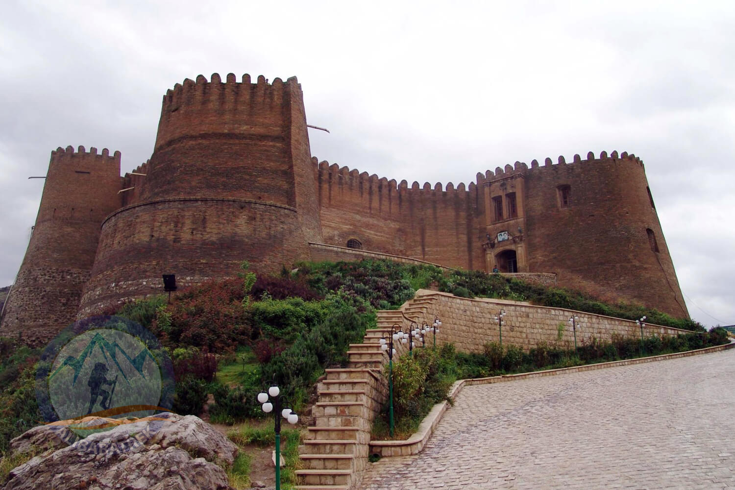 Alibabatrek iran tour packages lorestan tour visit falak ol aflak Khorramabad city map tourism tourist attraction sightseeing Places to see Falak ol Aflak