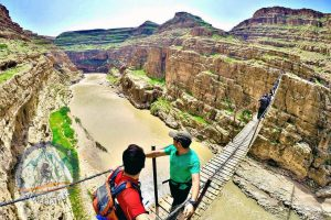 Alibabatrek iran tour packages lorestan tour visit falak ol aflak Khorramabad city map tourism tourist attraction sightseeing Places to see Hovering bridge Darreh Khazineh