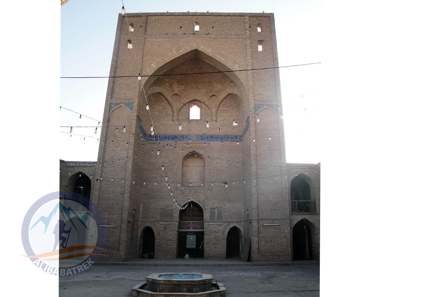 Alibabatrek iran tour packages semnan travel semnan tour visit semnan iran abr forest semnan city semnan tourism semnan tourist attraction semnan sightseeing places to see in semnan Jameh Mosque