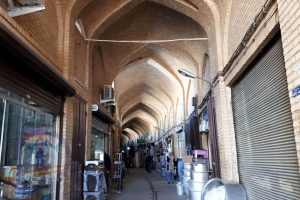 Semnan bazaar, Semnan's cross-shaped covered-bazaar marks the old heart of the city.