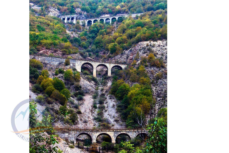 Alibabatrek iran tour packages Iran train tour Iran northern railway trip Iran One day tour Se Khat Tala