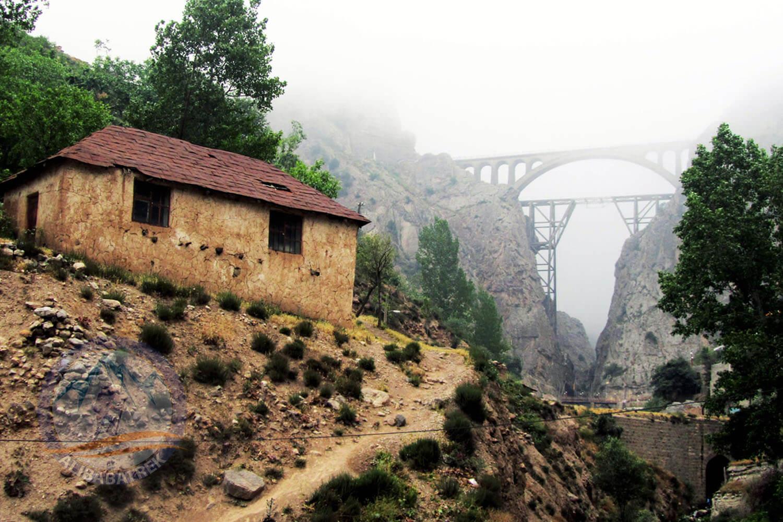 Alibabatrek iran tour packages Iran train tour Iran northern railway trip Iran One day tour Veresk bridge1