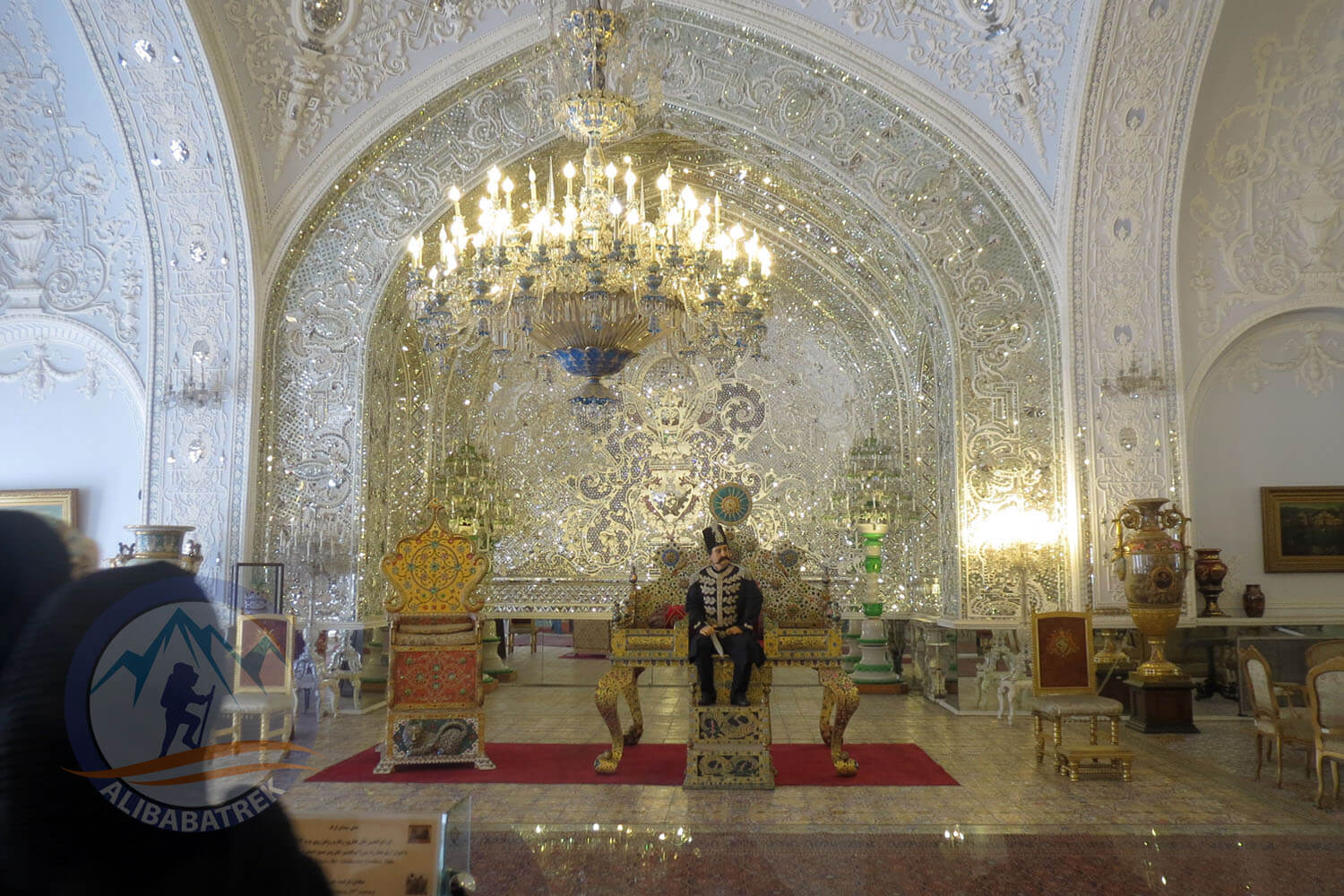 Alibabatrek iran tour packages Tehran day tour Tehran tour Tehran sightseeing tours Golestan Palace1