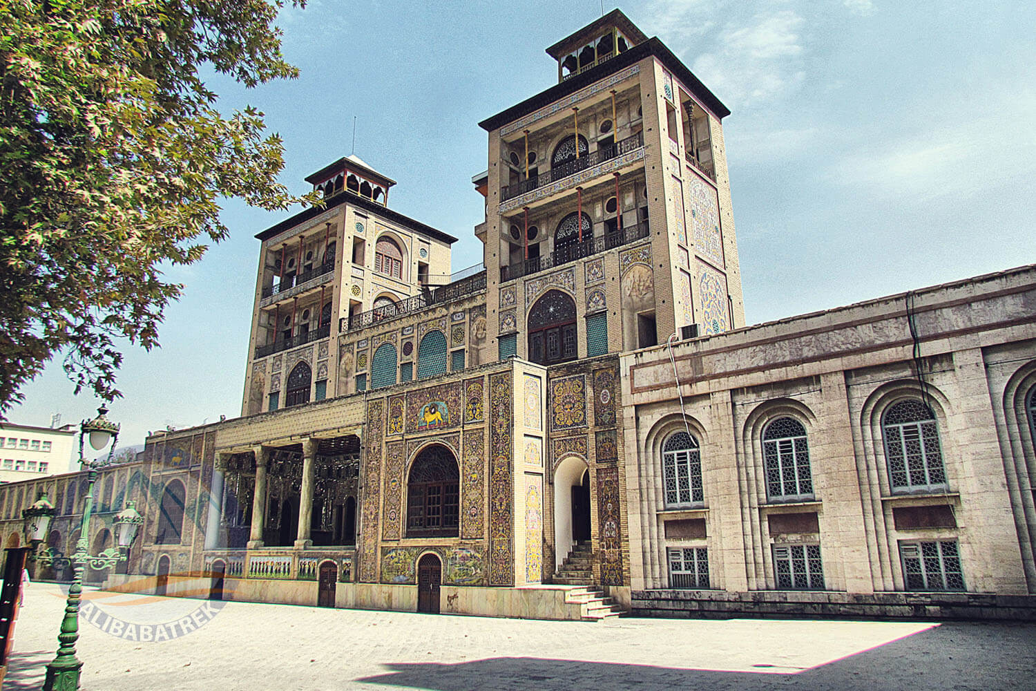 Alibabatrek iran tour packages Tehran day tour Tehran tour Tehran sightseeing tours Golestan Palace3