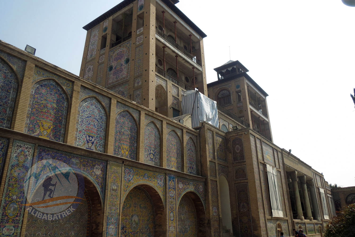 Alibabatrek iran tour packages Tehran day tour Tehran tour Tehran sightseeing tours Golestan Palace8