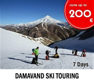 Pop up promotions-Alibabatrek-Damavand-ski-Iran-tour-package