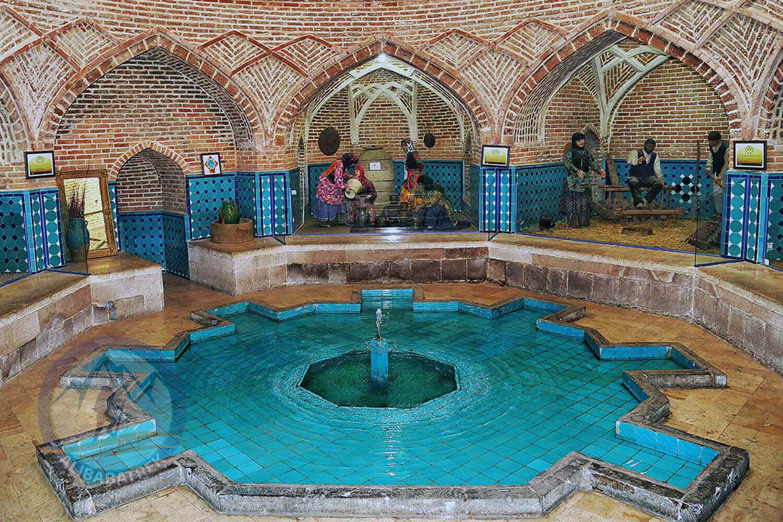 Alibabatrek iran tour Iran journey Tour to Iran in 3 weeks Explore iran qazvin Qajar Traditional Bath