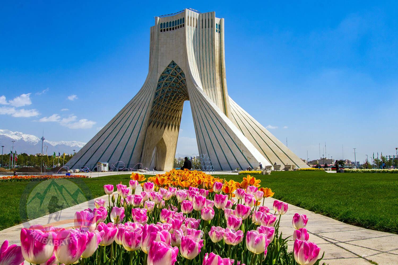 Alibabatrek iran tour packages Tehran towers tour Tehran city tour Tehran Guided Day Tour Azadi tower1