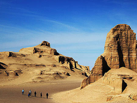 Alibabatrek iran tours tour in iran tour packages Kerman & Shahdad Kalouts Desert
