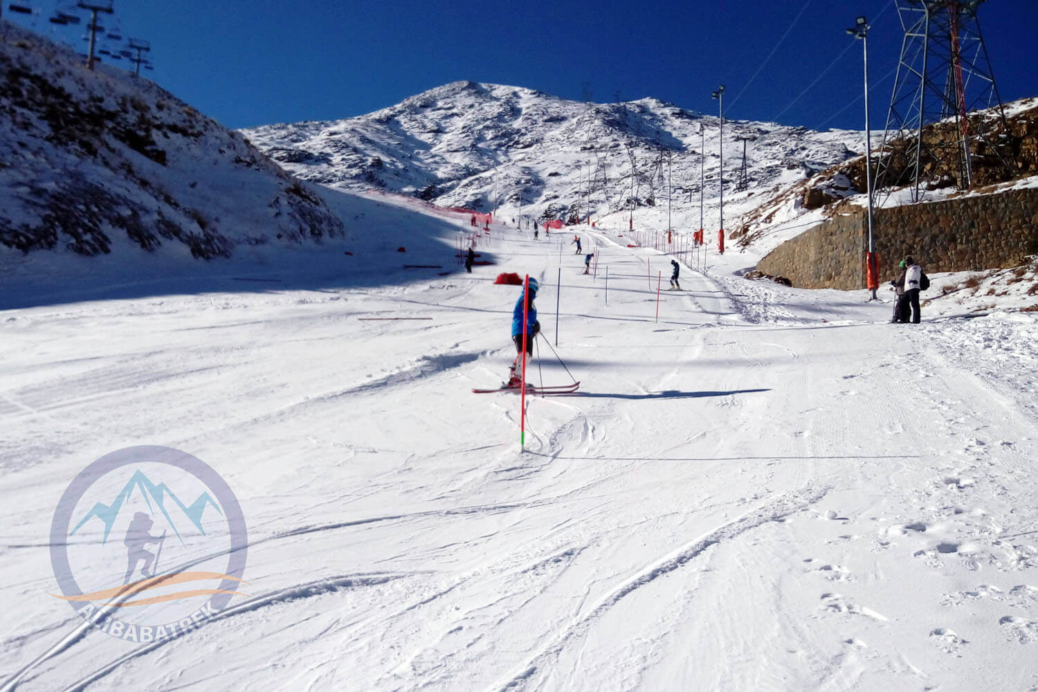 Alibabatrek Iran tours Iran tour packages Skiing in iran ski resort Iran Cultural tour Darbandsar Ski Resort2