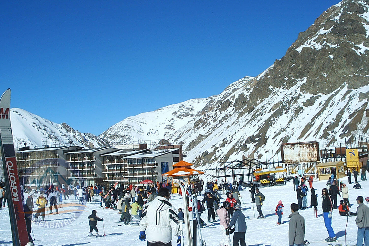 Alibabatrek Iran tours Iran tour packages Skiing in iran ski resort Iran Cultural tour Dizin Ski Resort