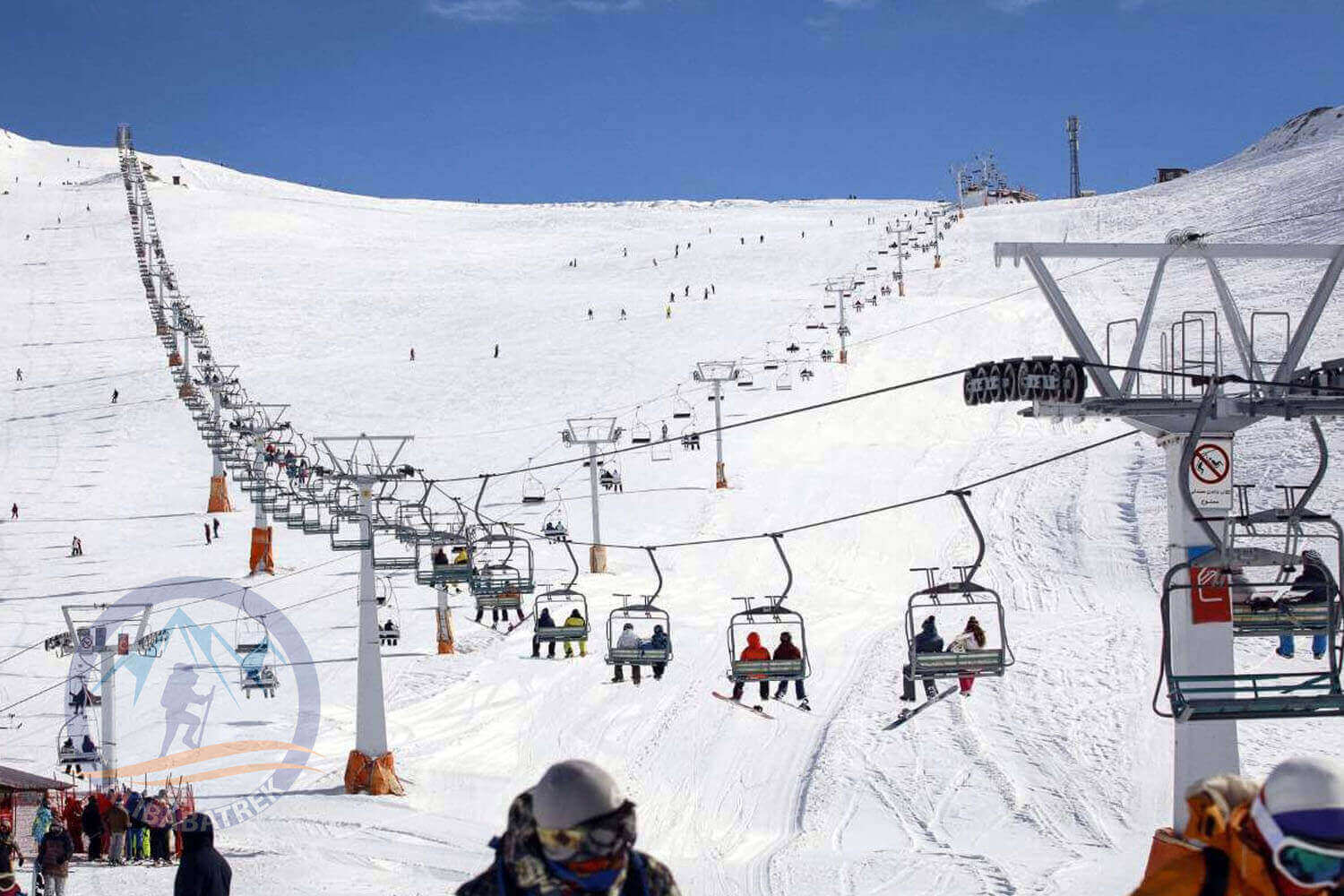 Alibabatrek Iran tours Iran tour packages Skiing in iran ski resort Iran Cultural tour Tochal Ski Resort, Tochal Hotel