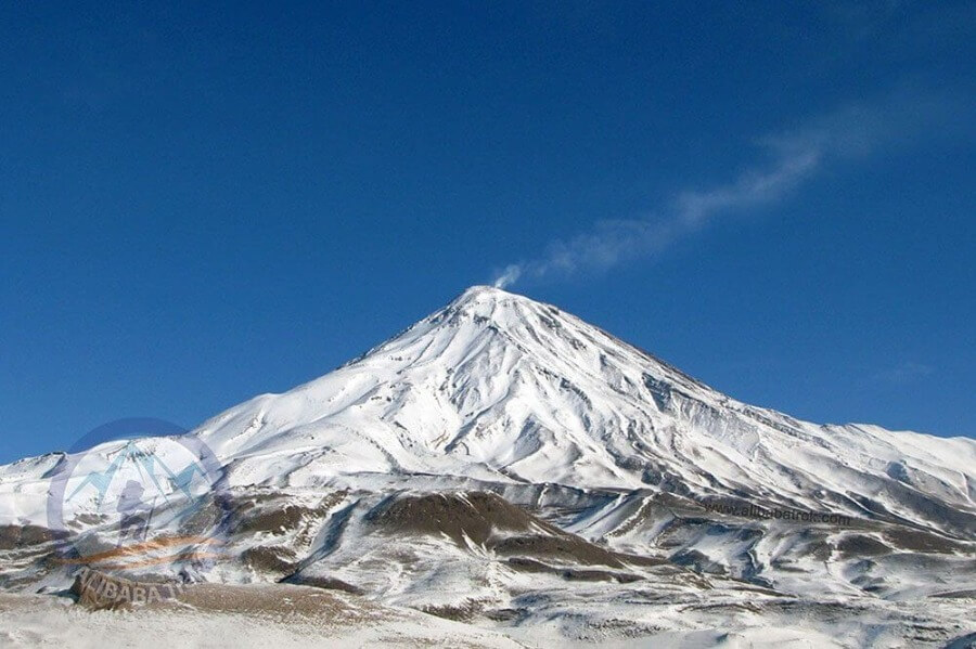 Alibabatrek climb damavand tour damavand trek damavand view