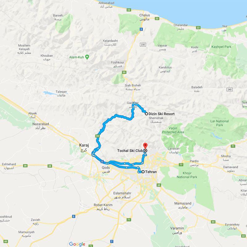 Alibabatrek iran tour Skiing in Iran Ski Resorts