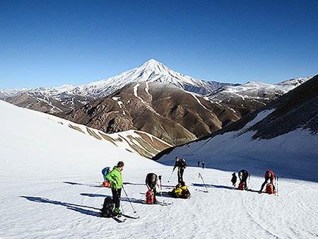 Alibabatrek iran tour operator iran tours iran tour packages damavand ski touring