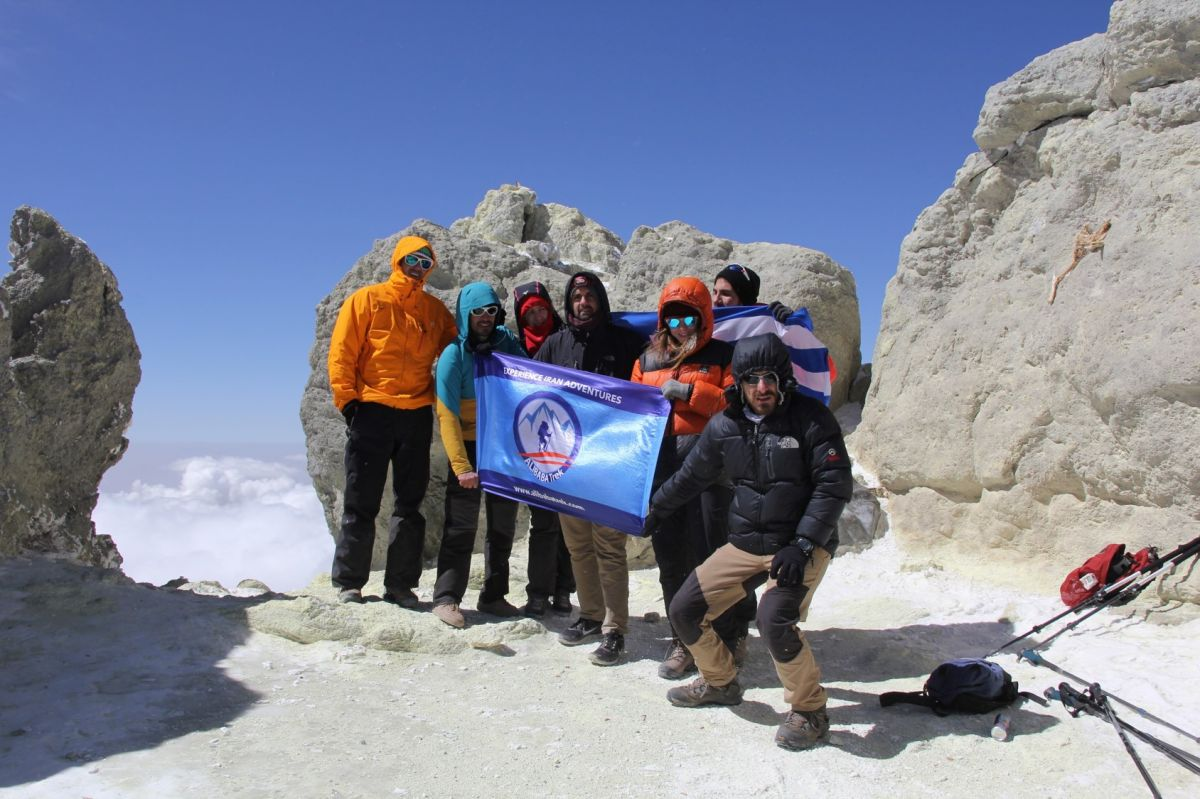 Alibabatrek mount damavand tour climb damavand trek summit with group tour