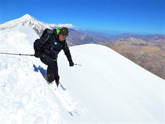 Damavand Ski touring alibabatrek why ski in Iran - Iran ski tour - Iran ski resorts - Iran blog