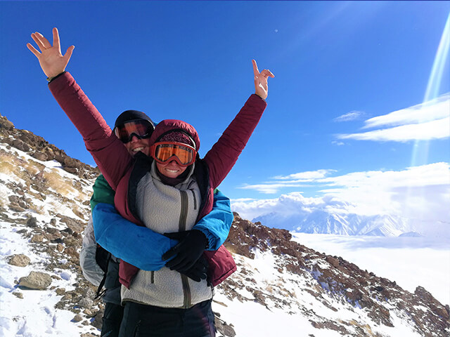 Damavand is safe alibabatrek Volcanic Seven Summits Conquest Damavand Iran blog -Iran-Tour