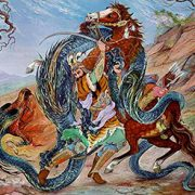Iranian Mythology Rostam the hero alibabatrek Damavand; The Symbol of Resistance iran blog -Iran-Tour