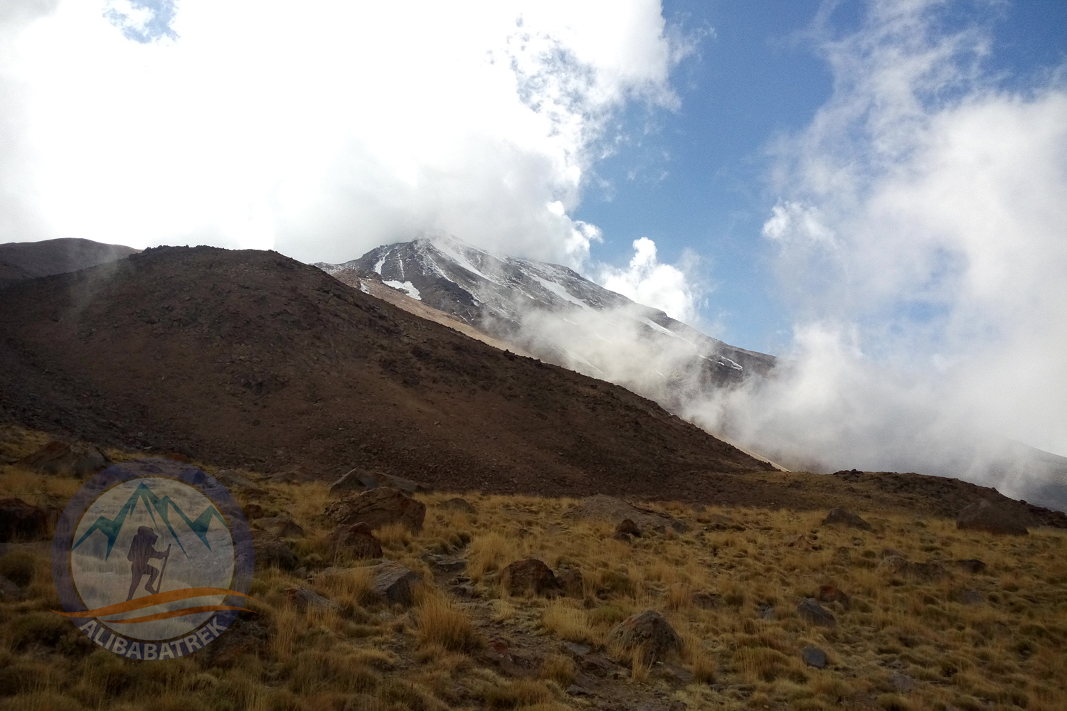 Alibabatrek Damavand northeast route tour