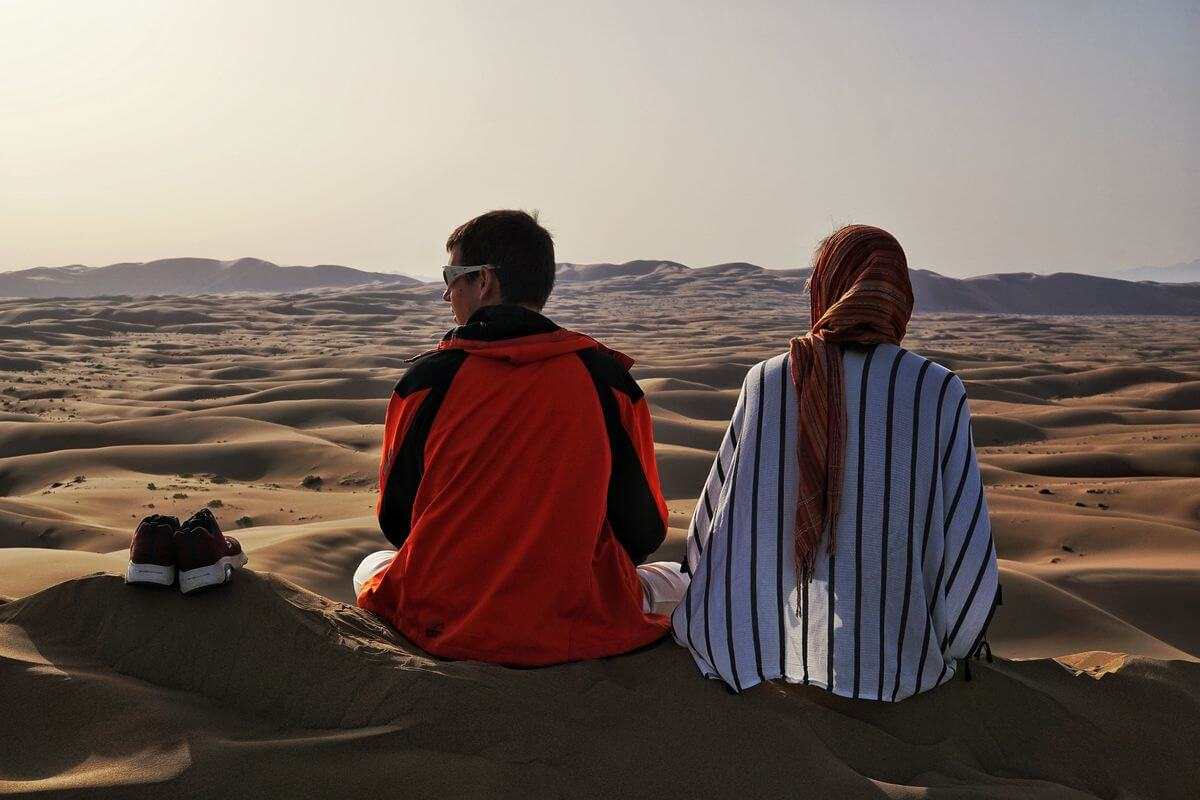 Alibabatrek best iran day tour daily iran tours Maranjab desert day tour