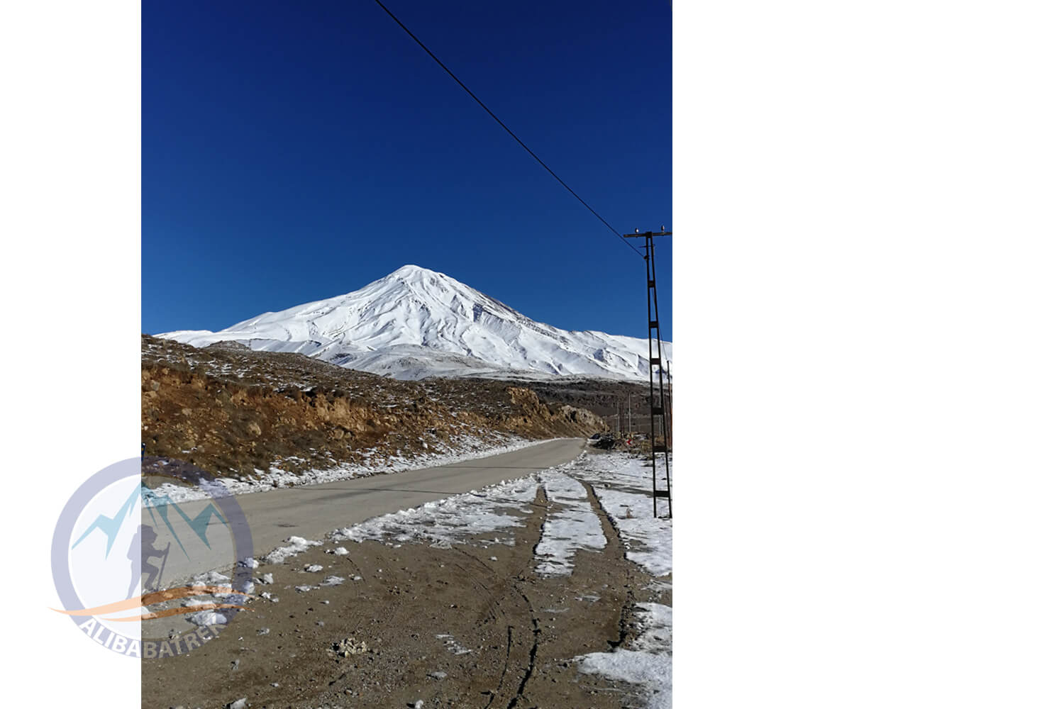 Alibabatrek damavand and tochal trekking tour iran trekking tour in tehran