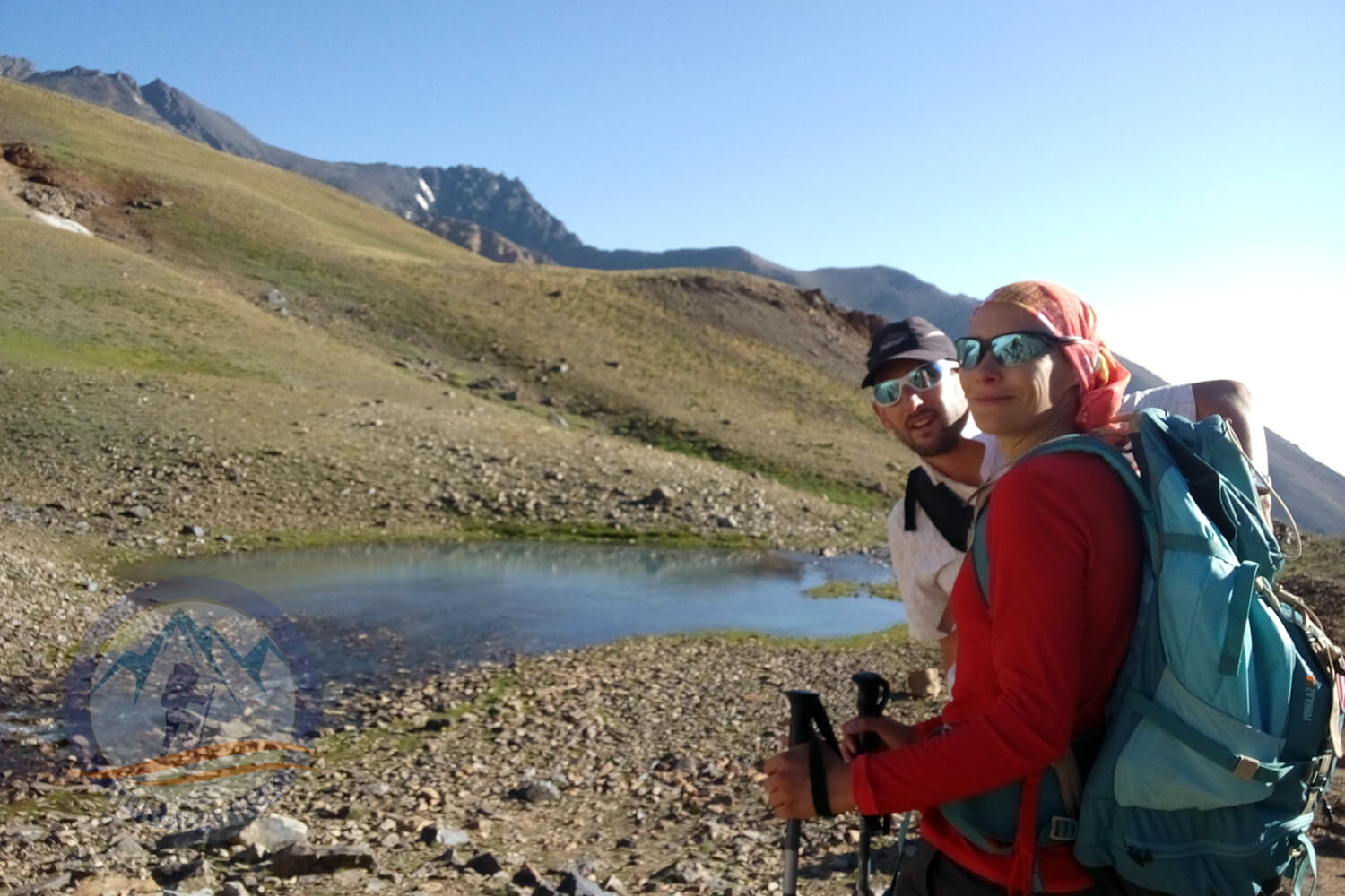 Alibabatrek damavand tour alamkuh trekking tour iran mountains tour