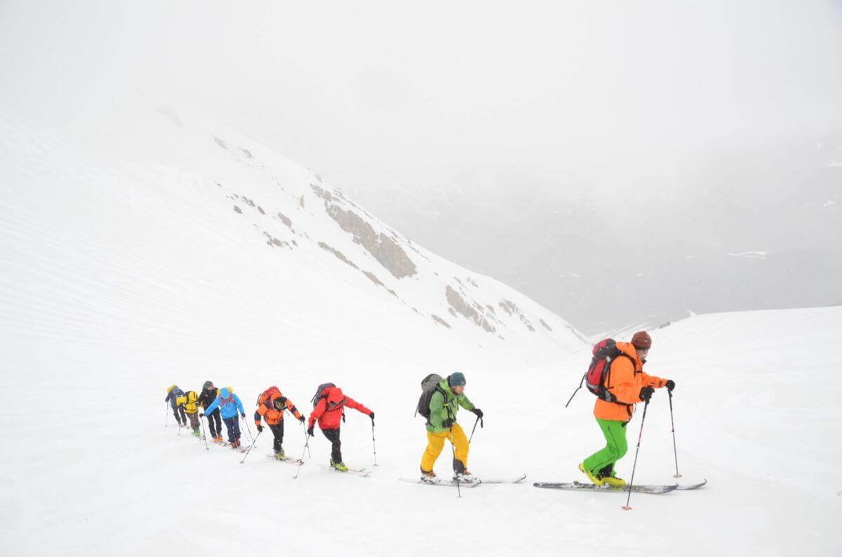 Alibabatrek iran ski touring skiing in iran iran ski tour Iran ski resort iran ski package holidays group tours