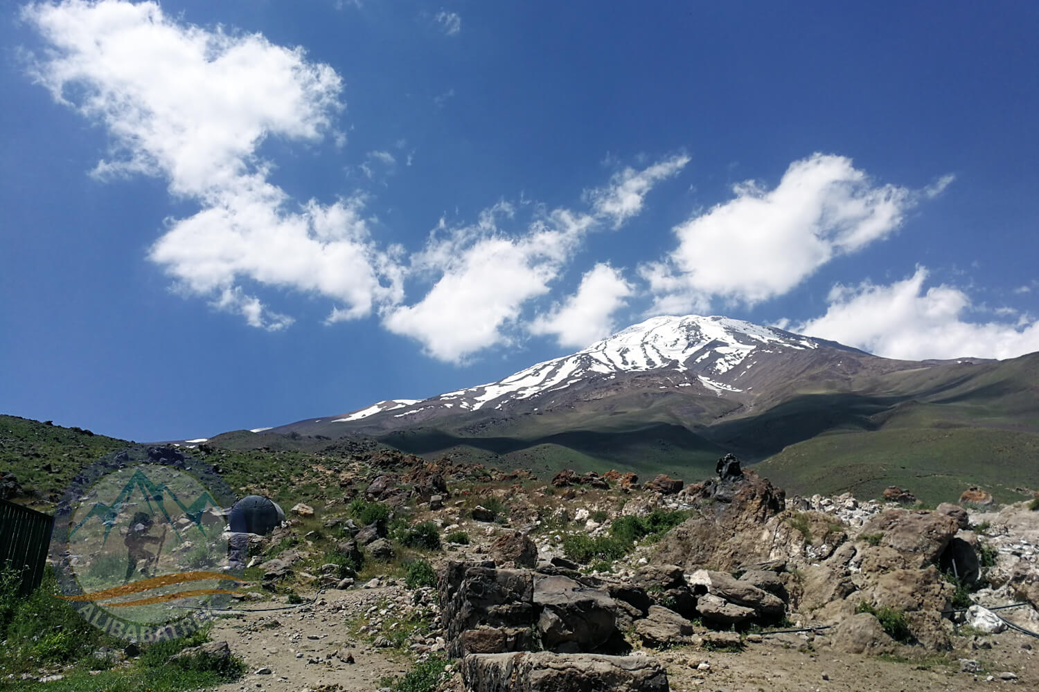 Alibabatrek top 3 summit of iran trekking tour mount damavand 4