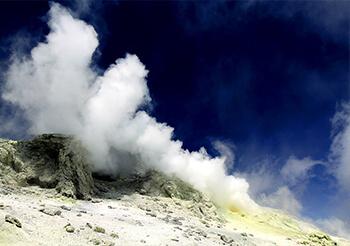 Damavand Volcanic Crater